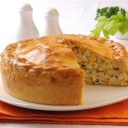 Receta de pastel de pollo facil y delicioso