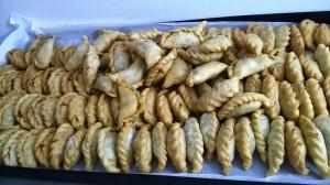 mini empanadas para compartir