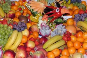 frutas para sangría tradicional